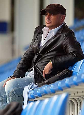 El técnico Josu Uribe