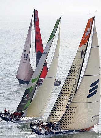La flota de la Volvo Ocean Race