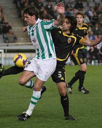 Yordi durante un partido del C�rdoba ante el Zaragoza