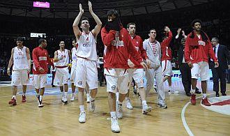 El Olympiacos se retira del Buena Arena