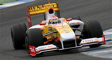 Alonso, con el R29