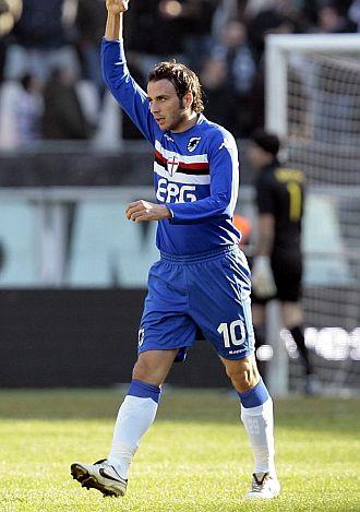 Pazzini ha encontrado la felicidad en la Sampdoria