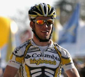 Cavendish ganando en California