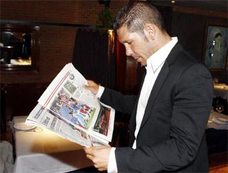 Simeone lee el MARCA.