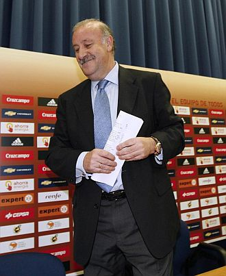 Vicente Del Bosque, tras dar la convocatoria