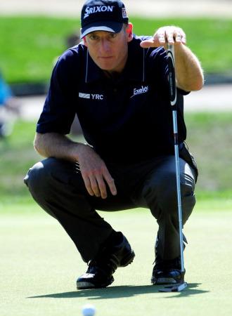 El golfisdta estadounidense Jim Furyk