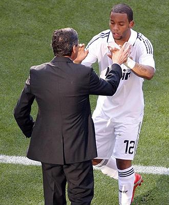 Marcelo dedic� su gol ante el Almer�a a Juande Ramos.