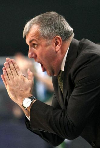 Obradovic, t�cnico de Panathinaikos, pide explicaciones