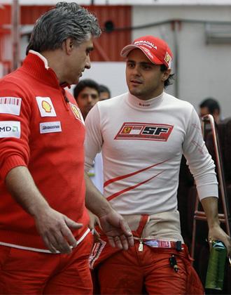 Felipe Massa sali� al paso de los rumores sobre un posible fichaje de Ferrari para la pr�xima temporada