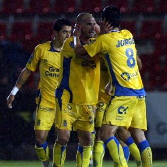 Las Palmas remont� un 2-0 y acab� empatando.