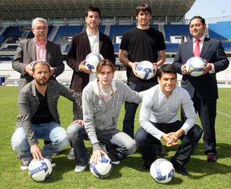 Sandro, Contreras, Valcarce, Miguel �ngel y Goitia