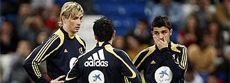 Torres, Villa y Xavi