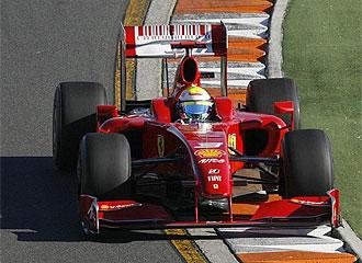 Felipe Massa, durante los entrenamientos
