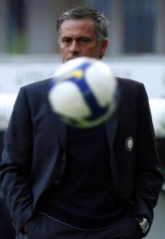 El portugu�s Jos� Mourinho