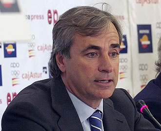 Carlos Sainz, hoy en el acto