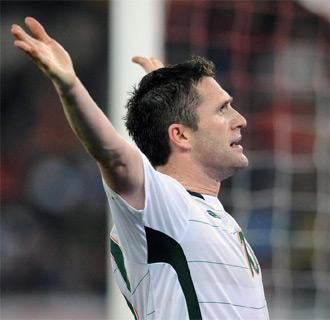 Robbie Keane celebra el 1-1 definitivo