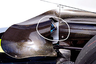 Los Brawn utilizar�n este tubo aparentemente reglamentario para el Gran Premio de Malasia.