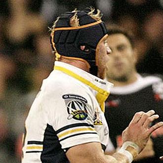 Mackay durante el partido que disput� el pasado 28 de marzo