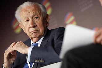 Juan Antonio Samaranch, presidente honorario del COI