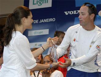 Iker Mart�nez recibe un premio en R�o de Janeiro