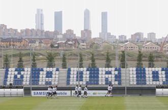El Real Madrid entrena en Valdebebas