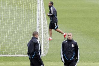 Marcelo se entrena al margen del grupo.