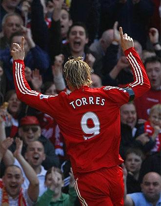 El espa�ol Fernando Torres.