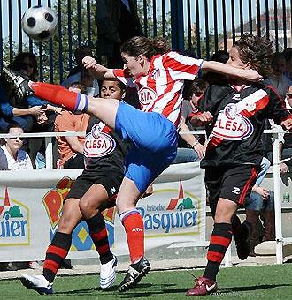 Atlético y Rayo llevan ya varios años disputando derbis madrileños en la Superliga femenina