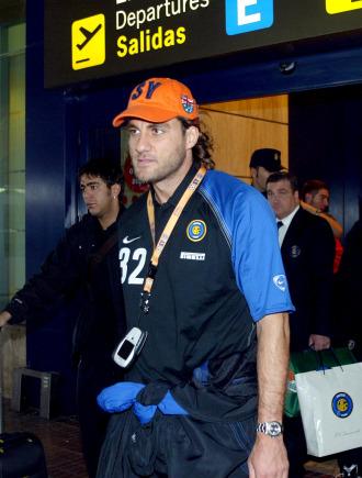Vieri, en su etapa como jugador del Inter.