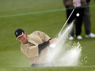 El golfista espa�ol Jos� Mar�a Olaz�bal.