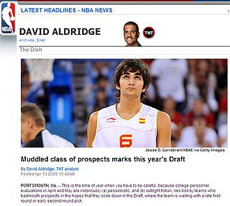 Reportaje de NBA.com sobre el draft.