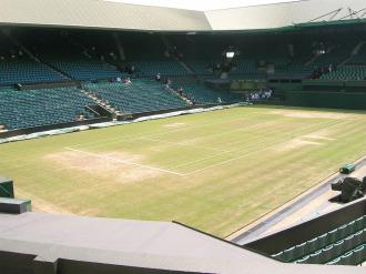 Pista Central de Wimbledon, en una imagen de archivo.