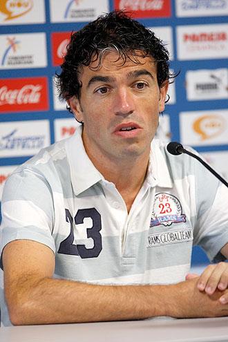 Javi Venta, en reuda de prensa con el Villarreal.