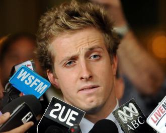 El nadador australiano Nick D'Arcy.