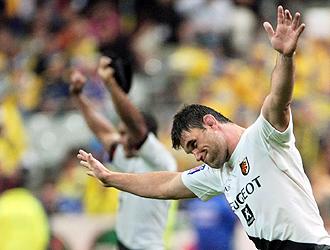 Fabien Pelous celebr� por todo lo grande el t�tulo del Top 14 conquistado el a�o pasado con Toulouse, el tercero que lograba