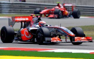 Kovalainen, con el McLaren con KERS en China