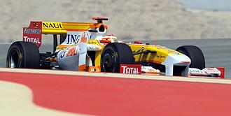 Imagen de Alonso durante los entrenamientos