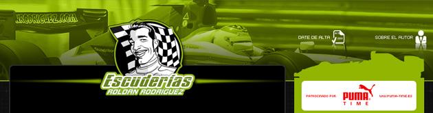 El blog del piloto de GP2 espa�ol Rold�n Rodr�guez arranca hoy en Escuder�as MARCA