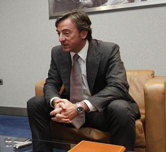 Pitarch, durante una entrevista.