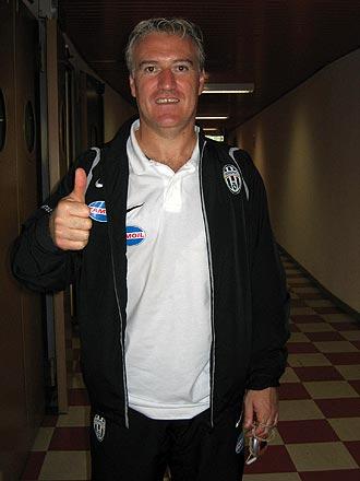 Didier Deschamps, en su �poca como entrenador de la Juventus.