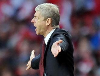 Arsene Wenger, entrenador del Arsenal.