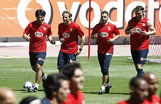 El Atl�tico prepara el choque frente al Espanyol