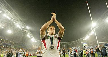 Australia organizó el Mundial de 2003, en el que Inglaterra se proclamó campeona del mundo con el ya mítico drop de Wilkinson, en la imagen