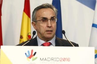 Alejandro Blanco comparece ante el COI en Madrid.