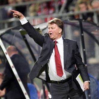 Van Gaal pone rumbo a Munich.