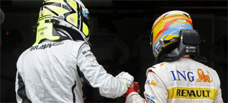 Button y Alonso