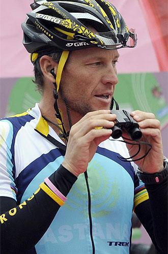 El estadounidense Lance Armstrong