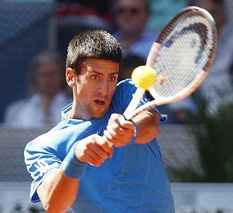 Djokovic se mostr� decepcionado tras el partido.