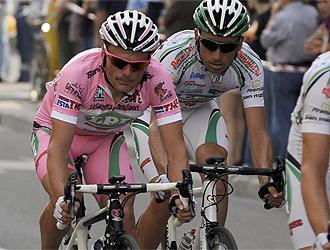 Danilo Di Luca, l�der del Giro