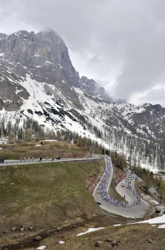 La montaña se acerca al Giro.